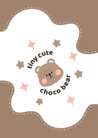 Tiny Cute Choco Bear