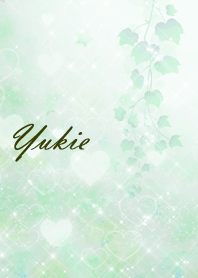 No.1090 Yukie Heart Beautiful Green