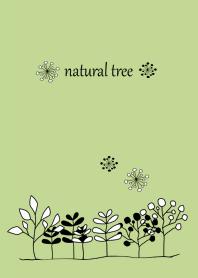 Simple green Scandinavian design