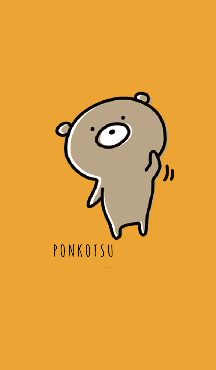 Orange : Bear PONKOTSU 3