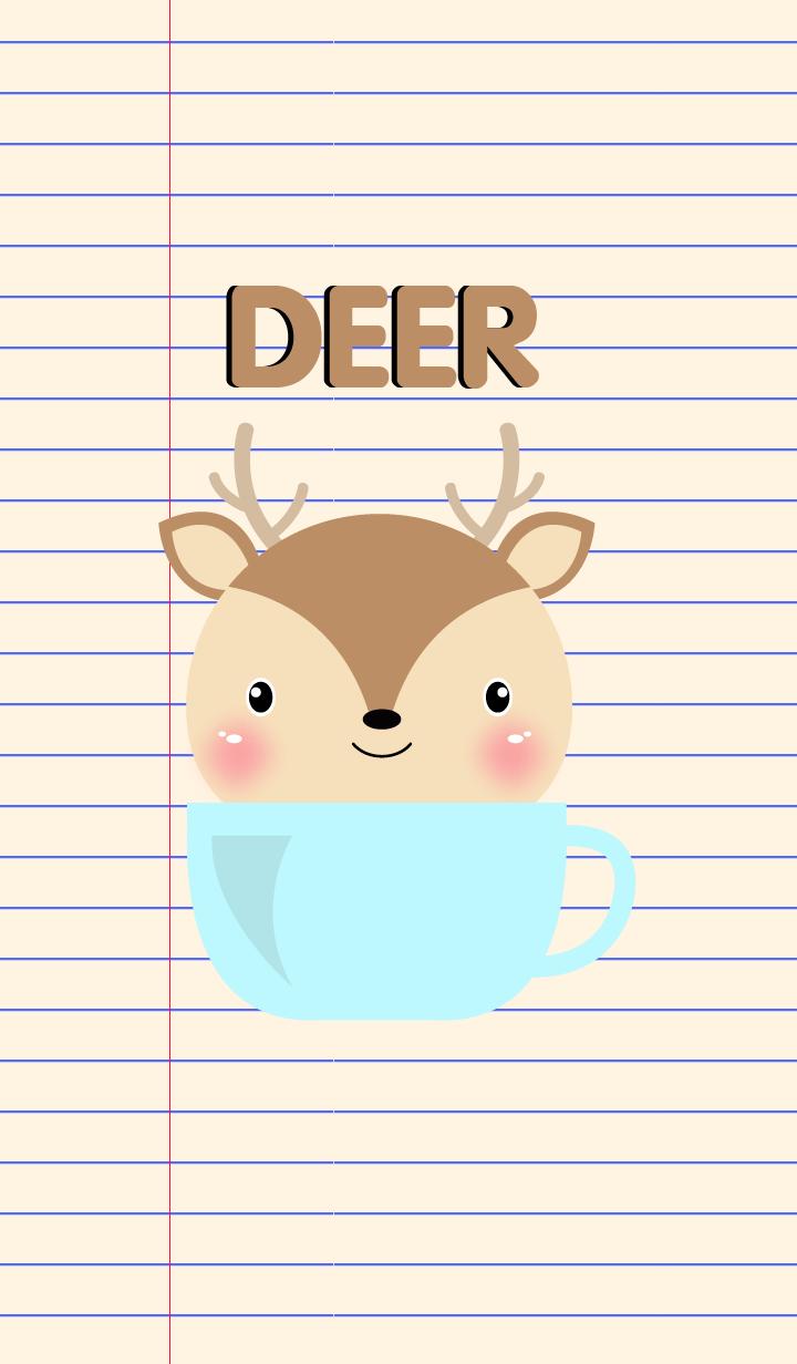 Simple Cute Deer Theme Vr.2(jp)