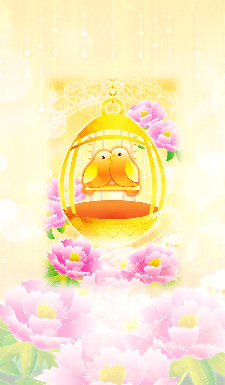 Good luck. Gold Bird Cage and Love Bird