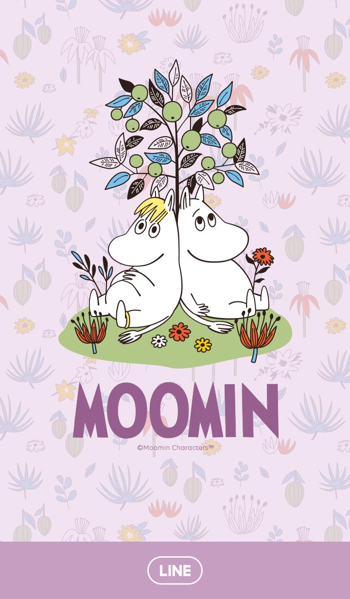 Moomin Lavender & Flowers