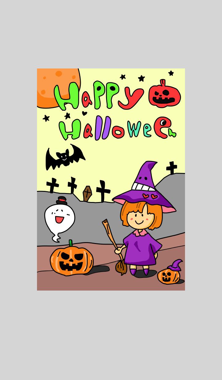 Cute happy Halloween2019