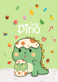 Dino Cute Mini Green