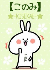Konomi usagi green Theme