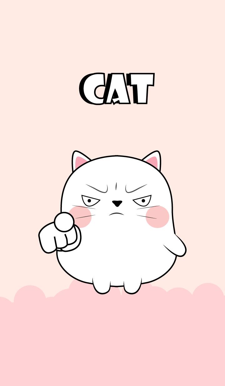 Love Cute Cute White Cat (jp)