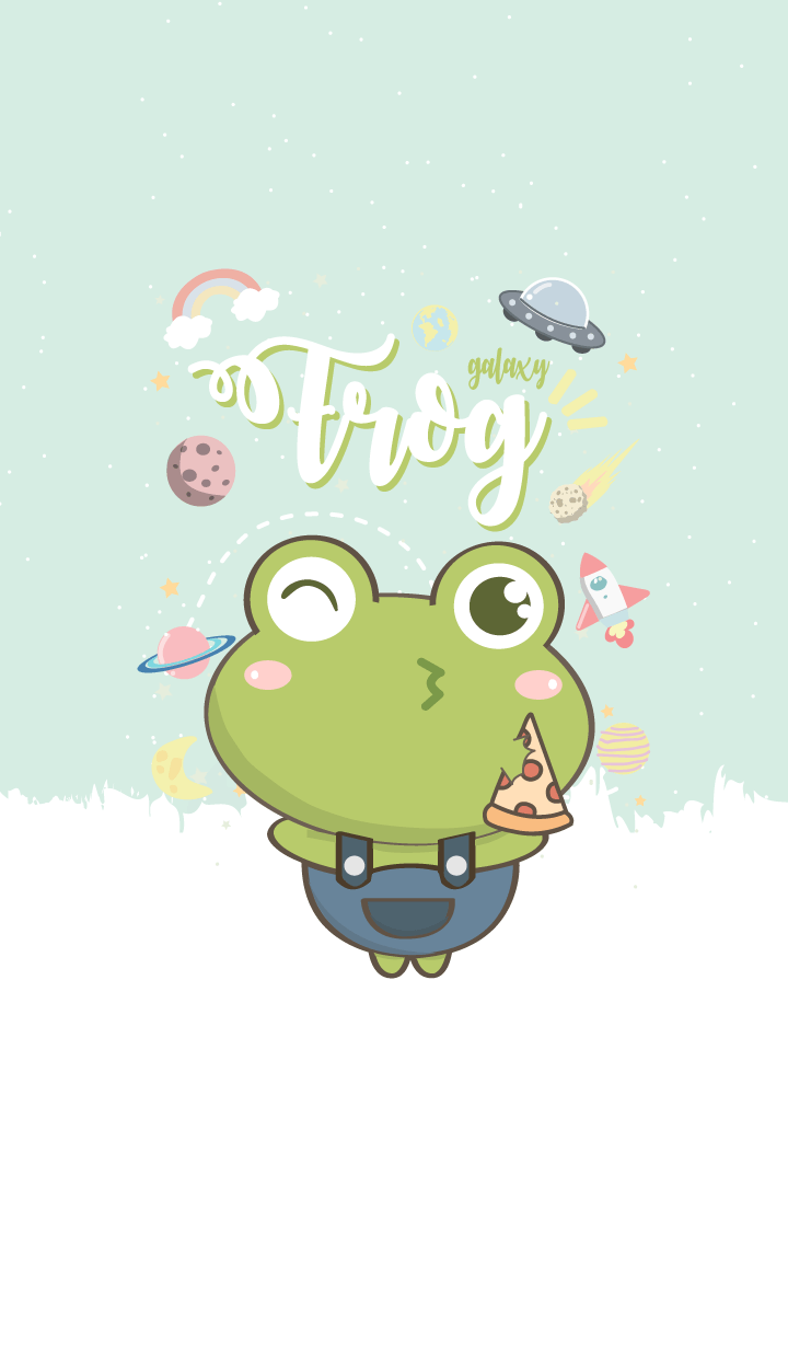 frog galaxy lover (Blue ver.)