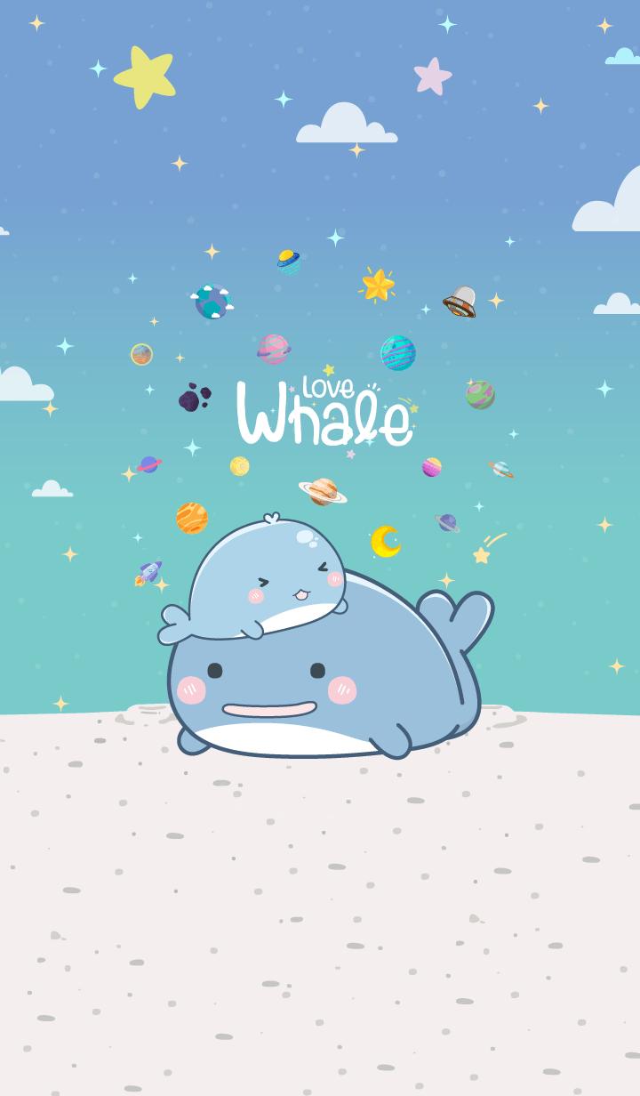 Whale Mini Blue Pastel