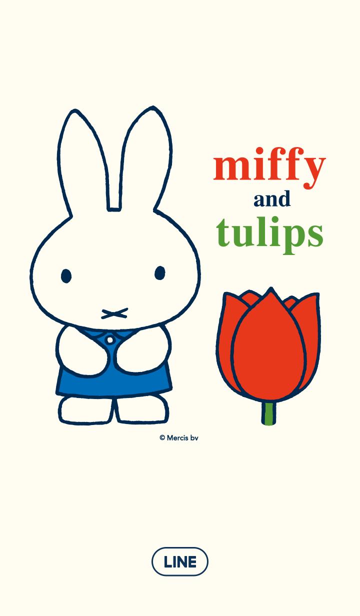 miffy & tulips