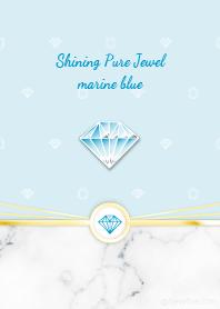 Shining Pure Jewel marine blue