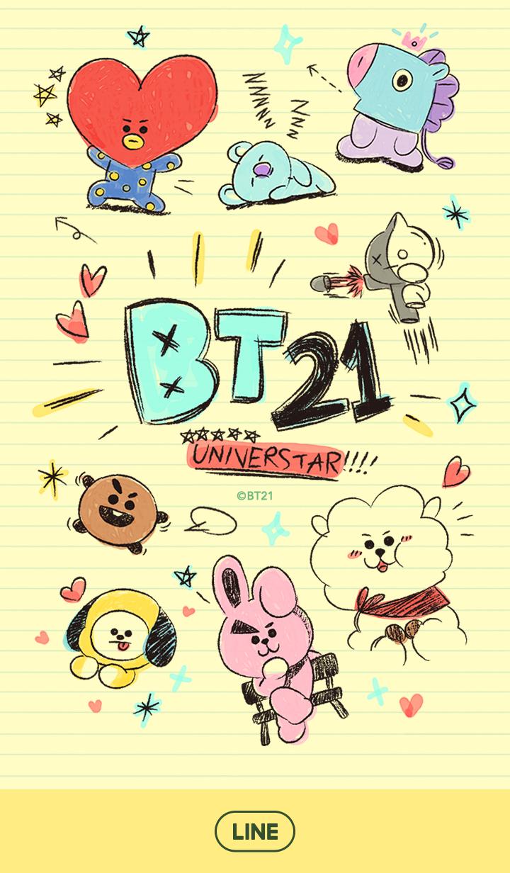 BT21: Daydream Doodle