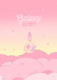 Galaxy Pastel: milky way