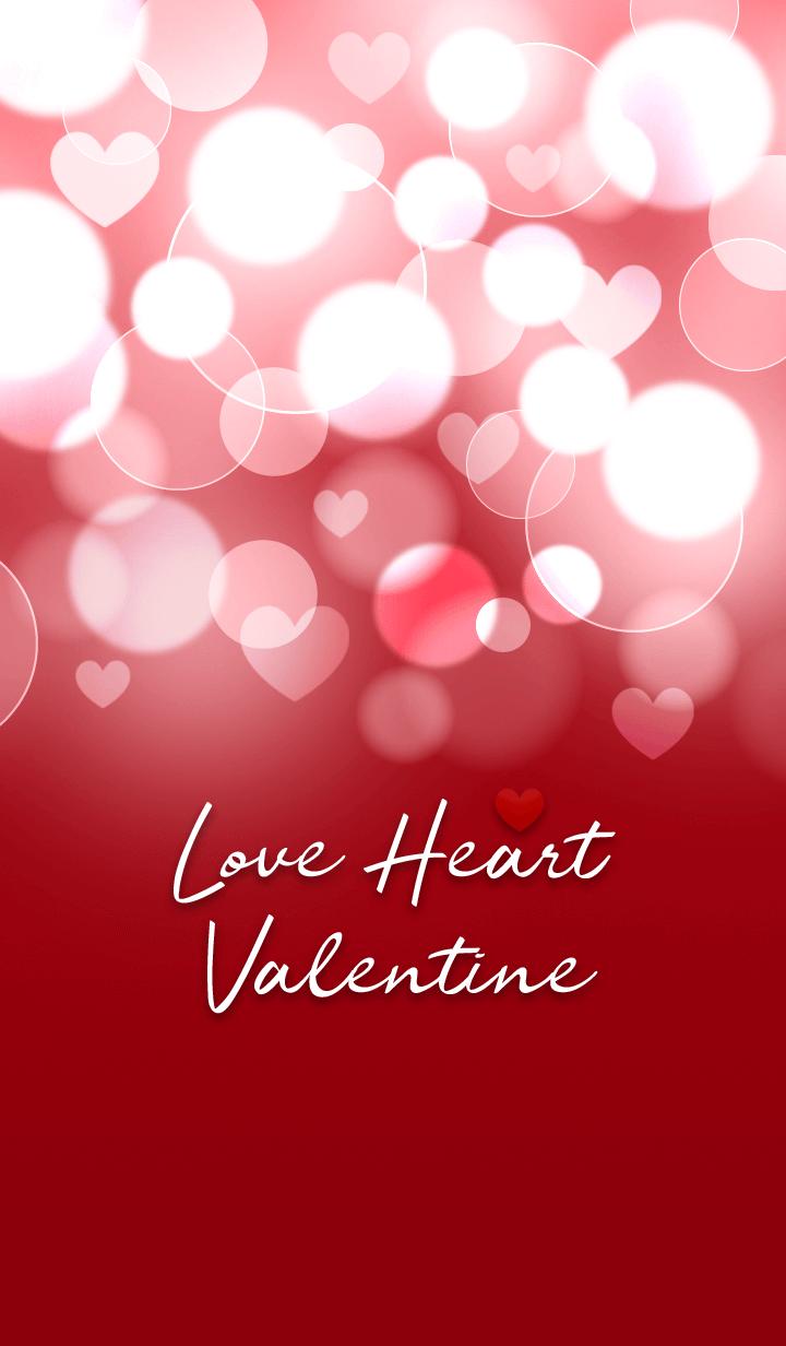 Love Heart Valentine. [Red]