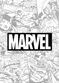MARVEL漫畫(黑白風)