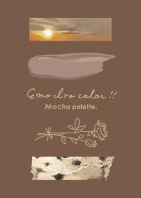 emo iro color _mocha palette._