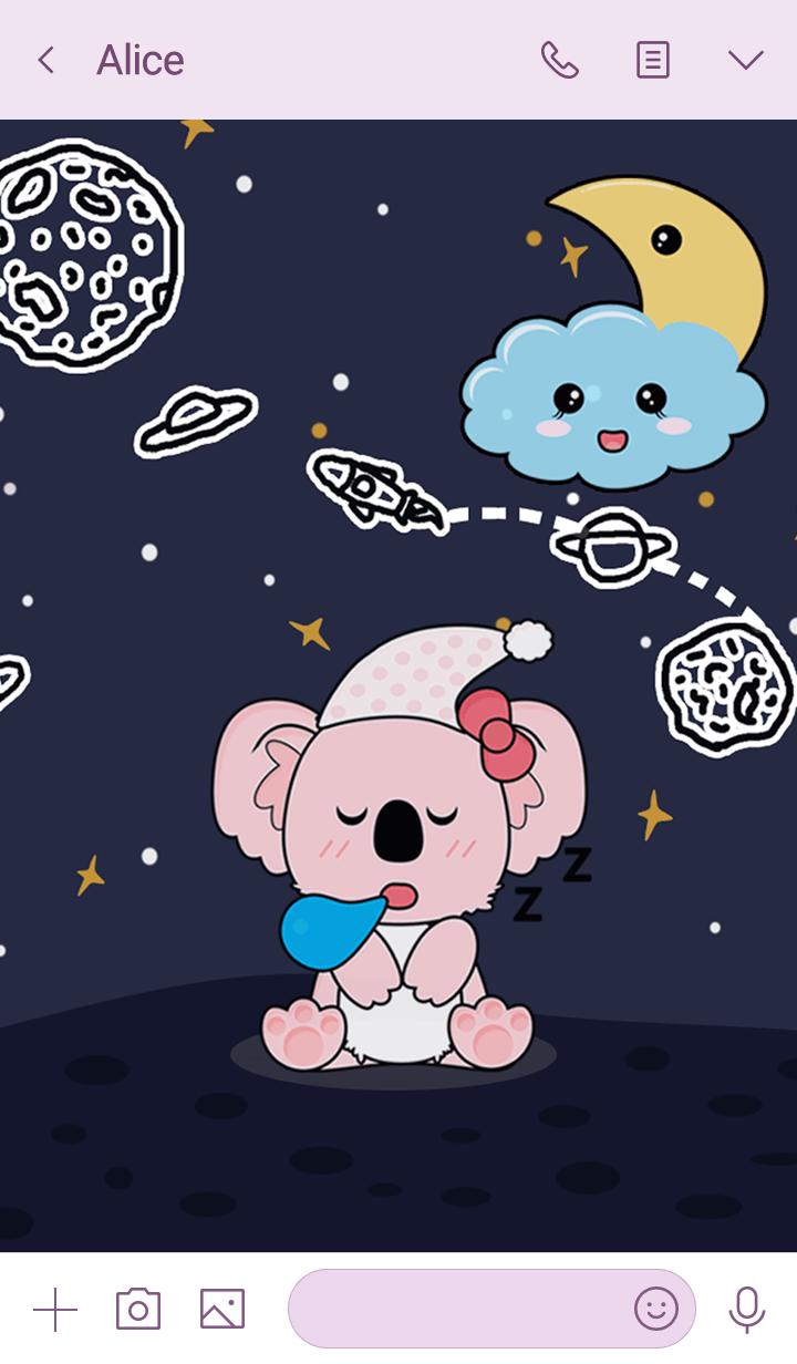 sweet dreams koala