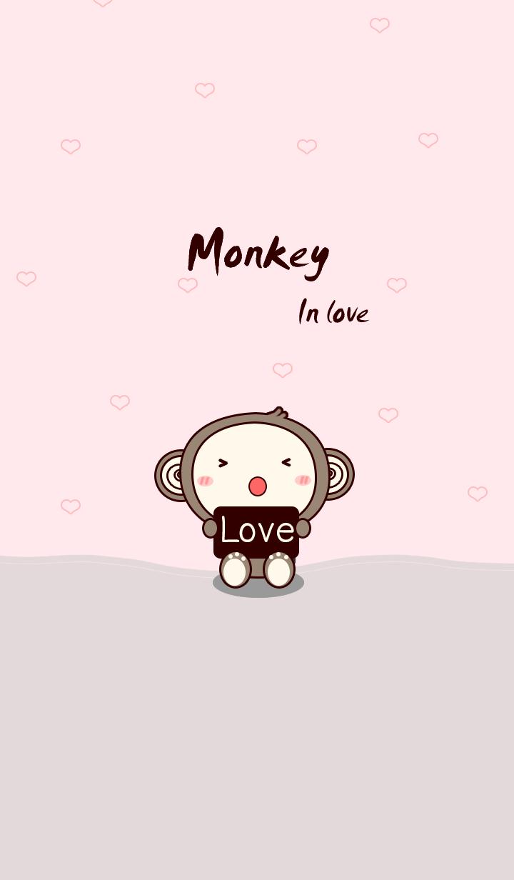 Monkey brown in beige