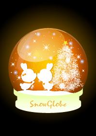 Snow globe -ORANGE-