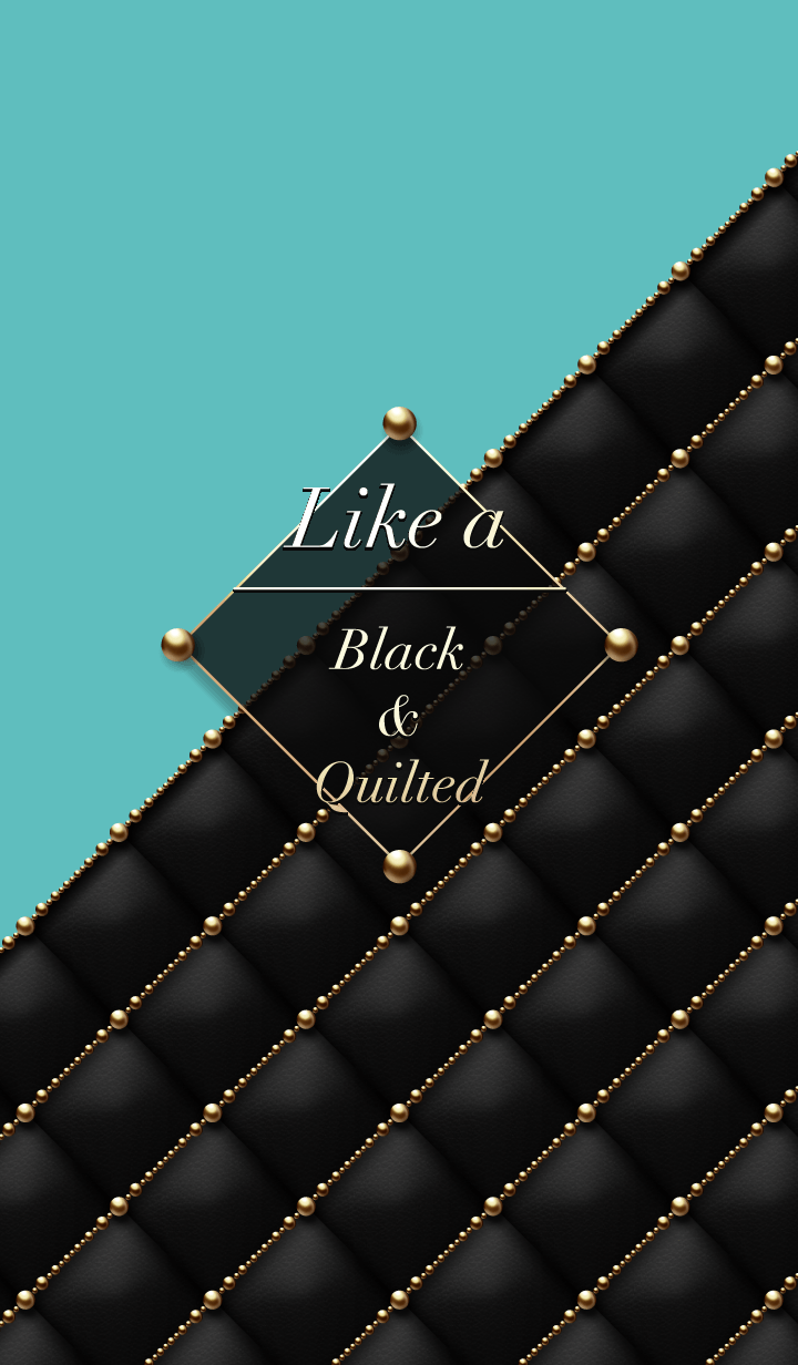 Like a - Black & Quilted #Peacock