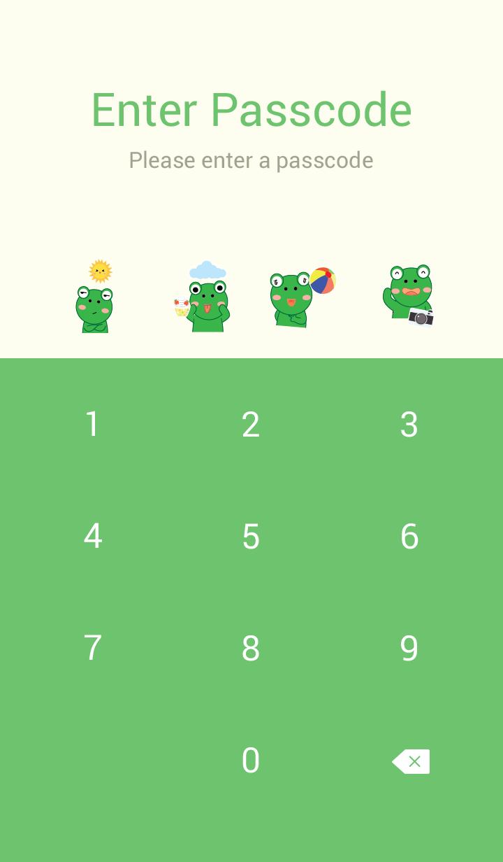 Simple Cute frog theme v.5 (JP)