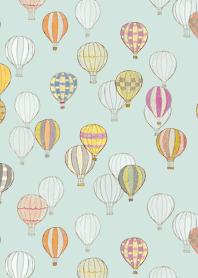天空中的彩色氣球 2