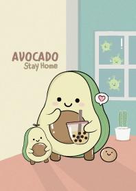 Avocado Stay Home.