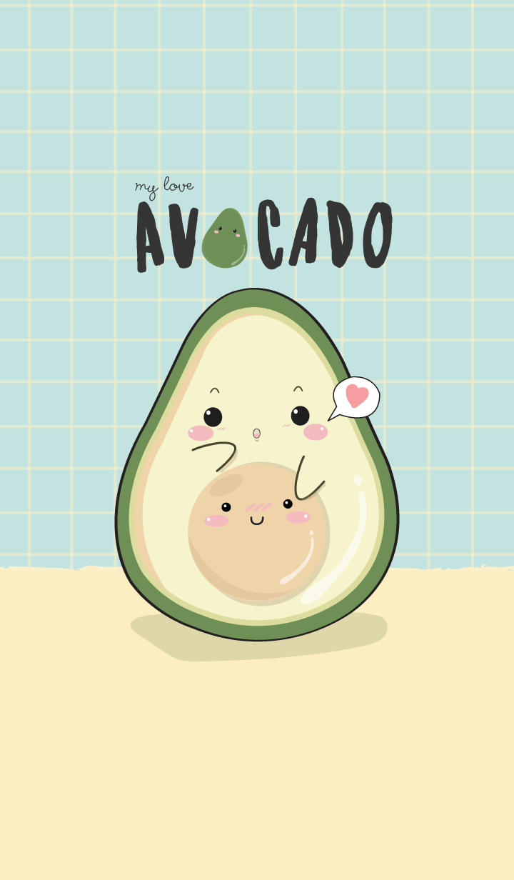 Avocado my love (ver.blue)