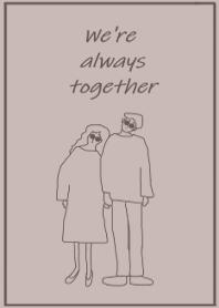 We're always together- kuaumi color(JP)