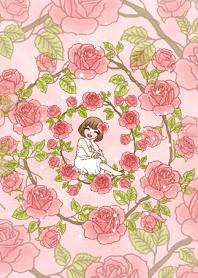yuri with flower theme