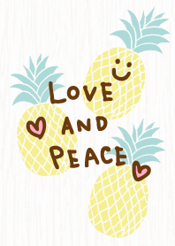 Pineapple grain background - smile30-