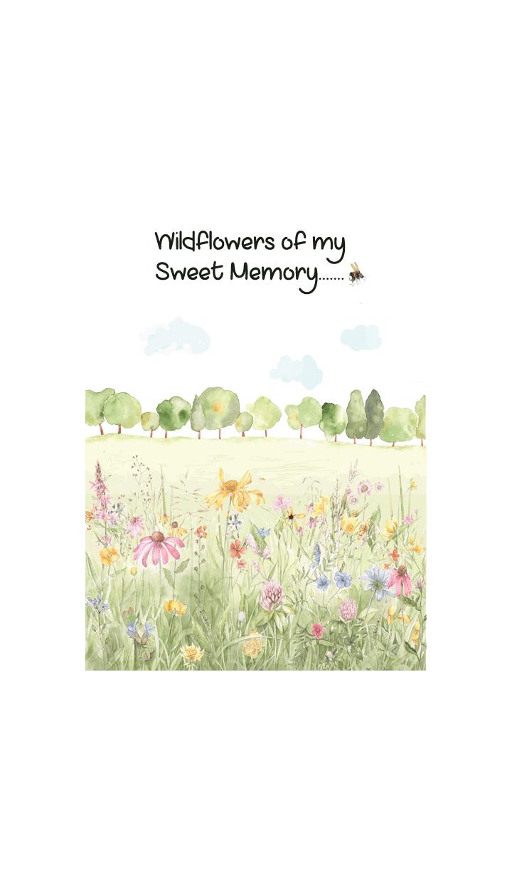 wildflowers of my sweet memory