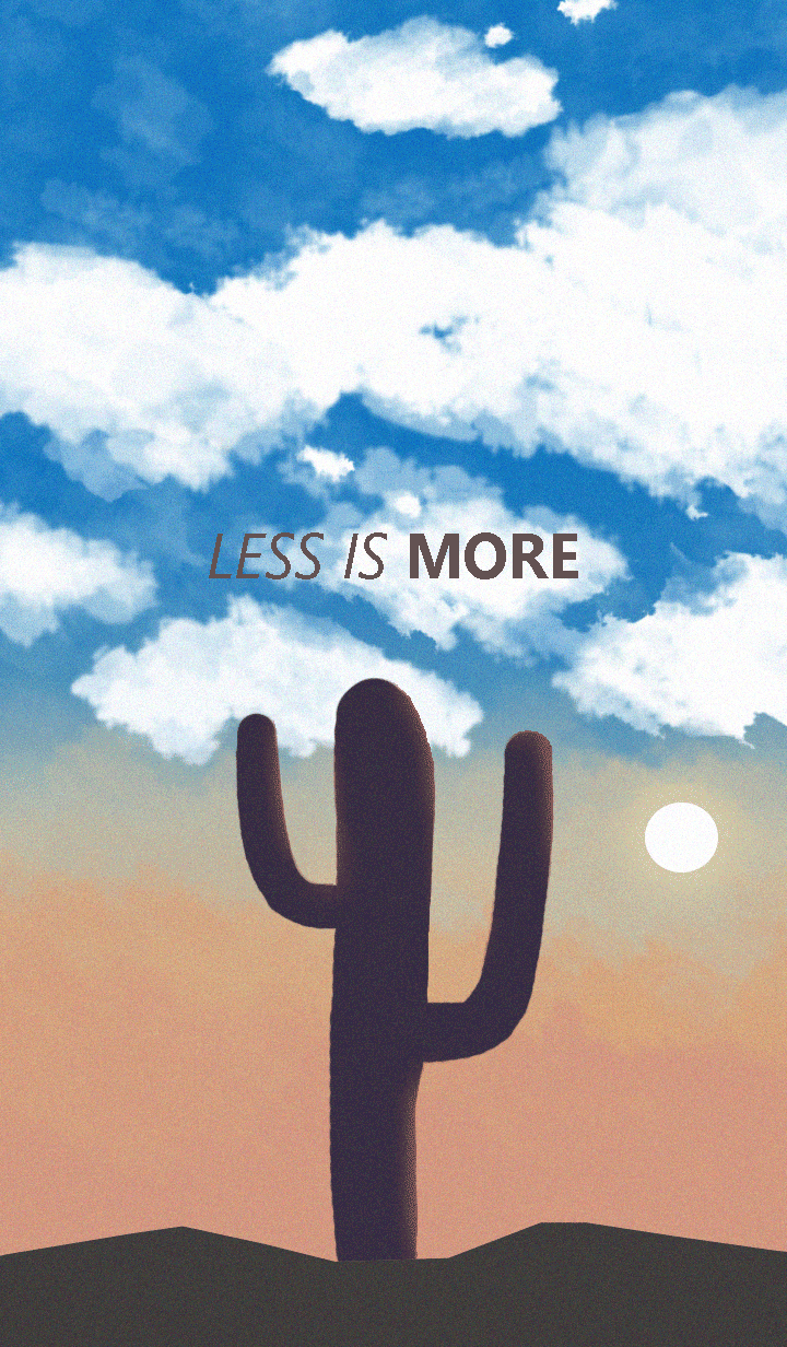 Less is more - #17 Nature