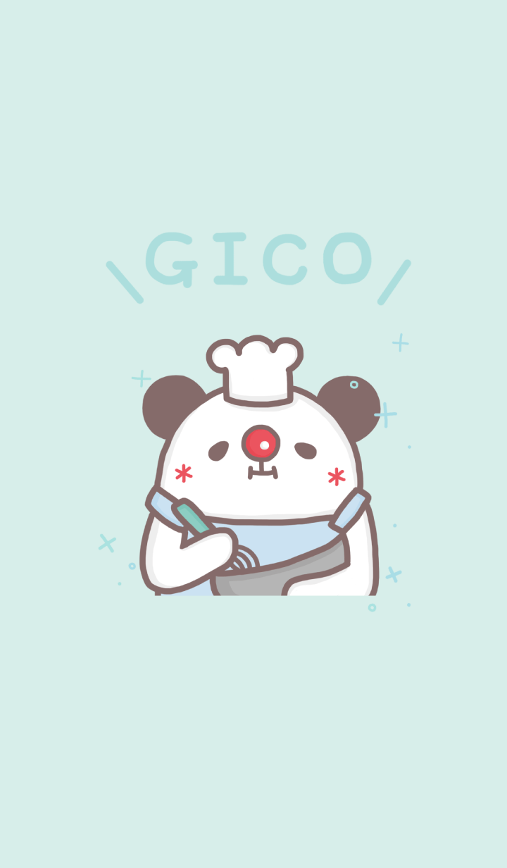 GICO panda and dessert