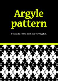 Argyle pattern style