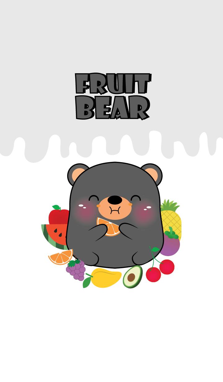 Black Bear And Fruit Theme (jp)