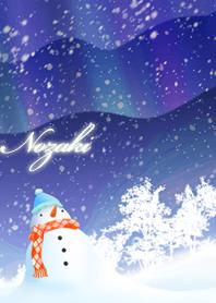 Nozaki Snowman & Aurora