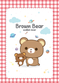 Brown Bear Scottish Red