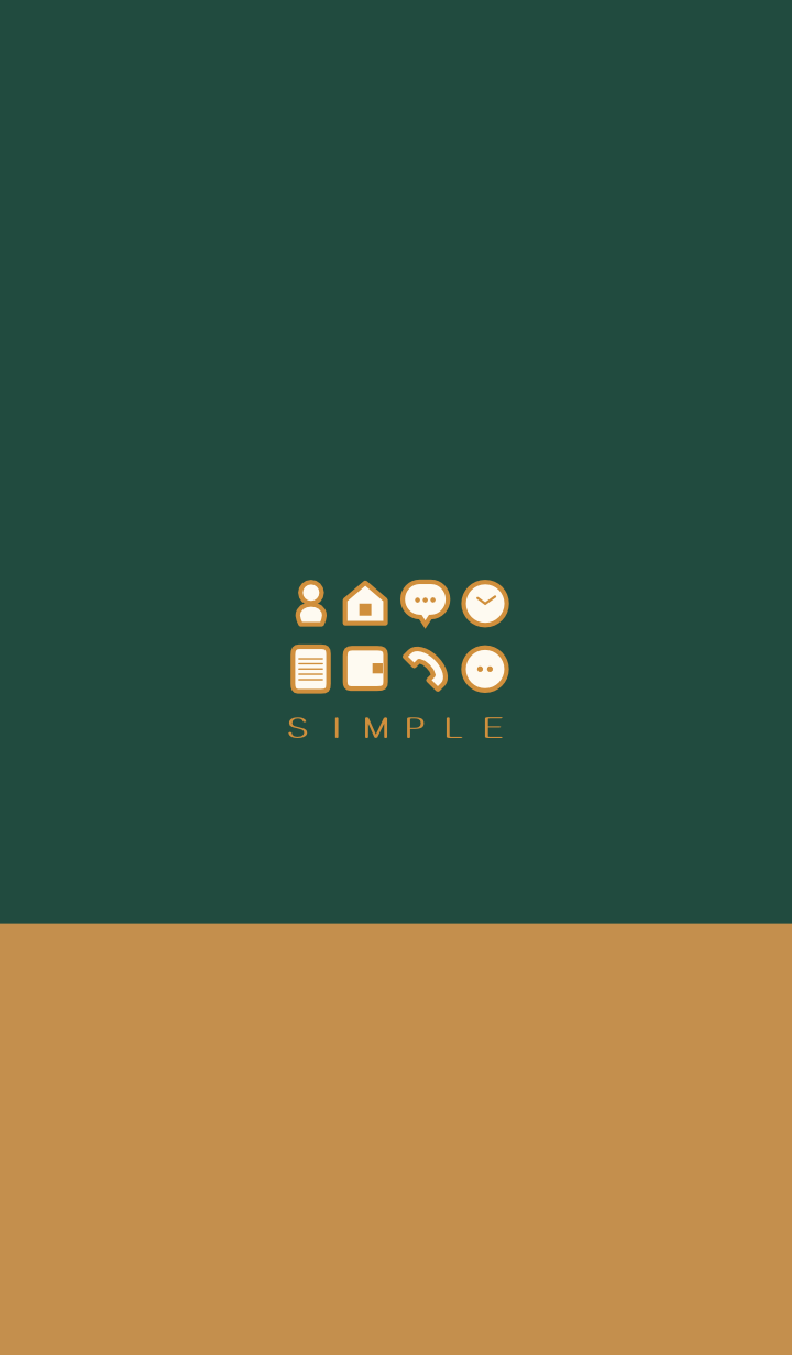 SIMPLE(brown green)V.444b