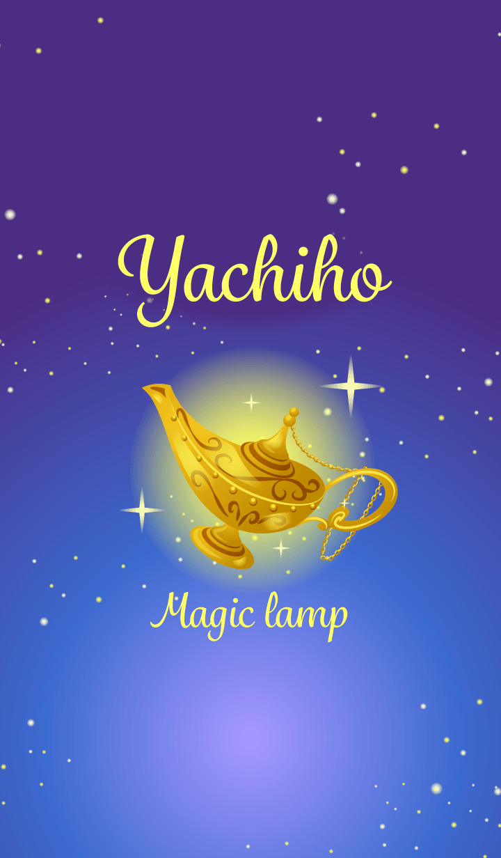 Yachiho-Attract luck-Magiclamp-name