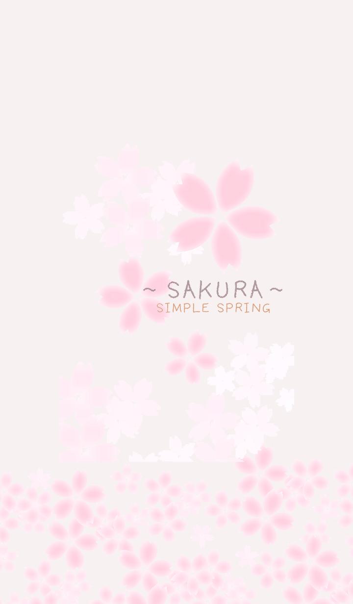 Simple Spring-SAKURA4-
