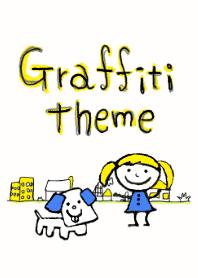 Graffiti theme(yellow version)