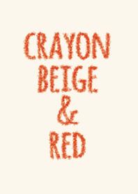 ดินสอสีแดงและสีแดง 2 / วงกลม