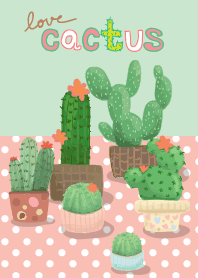 Colorful Day 10 (Love cactus)