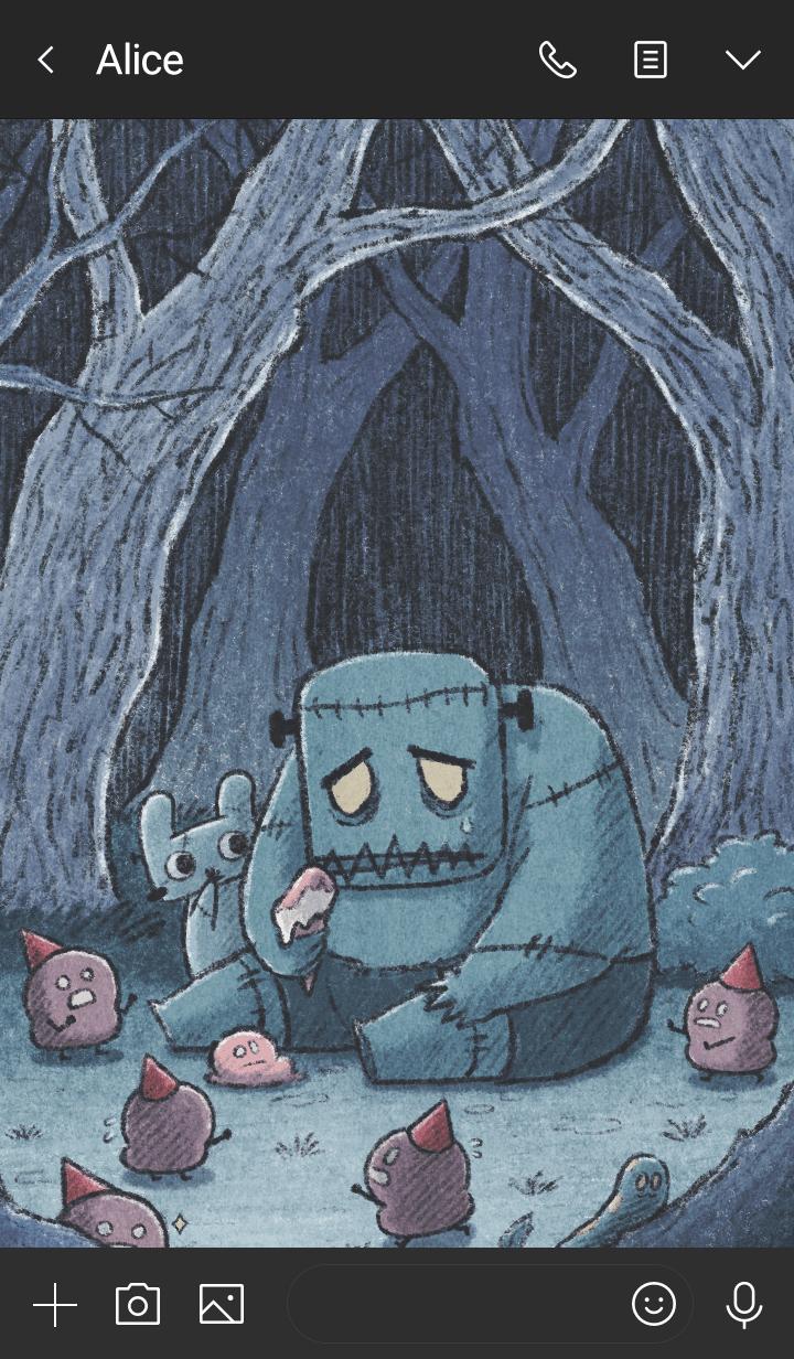 Hey Bu!-Dark Forest ver.2