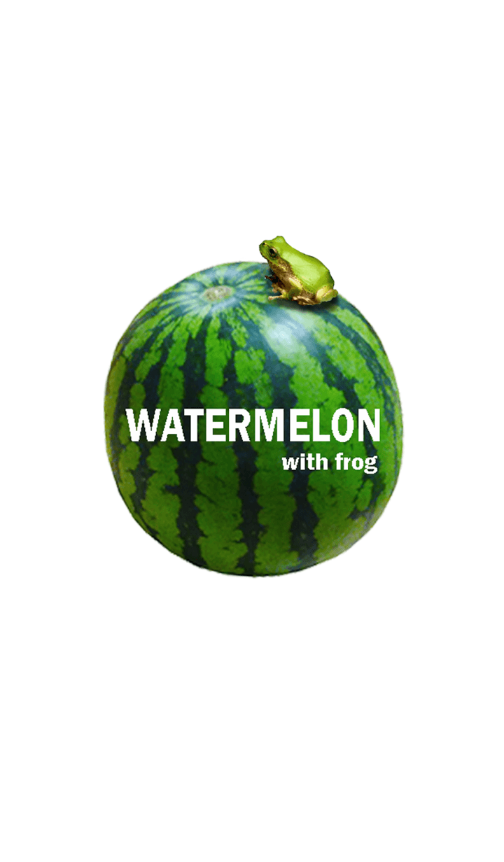Watermelon and frog 3