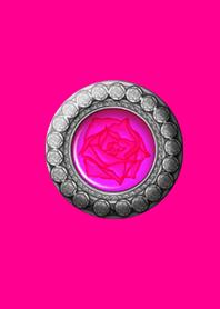 Royal rose button pink