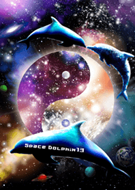 Space Dolphin 13 Theme to bring luck
