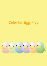 Colorful Egg Piyo Vol.1