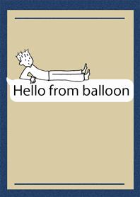 Hello from balloon
